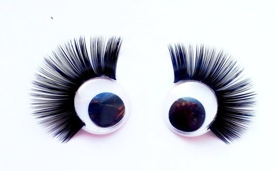 craft wiggly google eyes eyelashes 15 mm 5 pairs