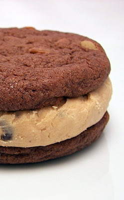 homemade mocha cookie sandwiches | just chocolate | Pinterest