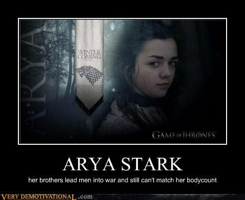 game of thrones arya watches play