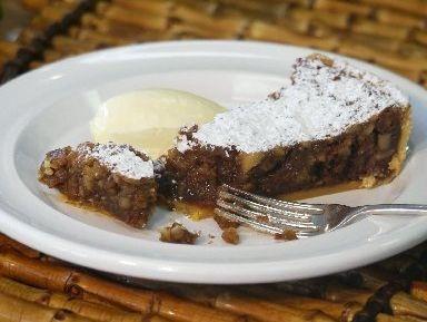 Wild honey and walnut tart | Stunning Desserts | Pinterest