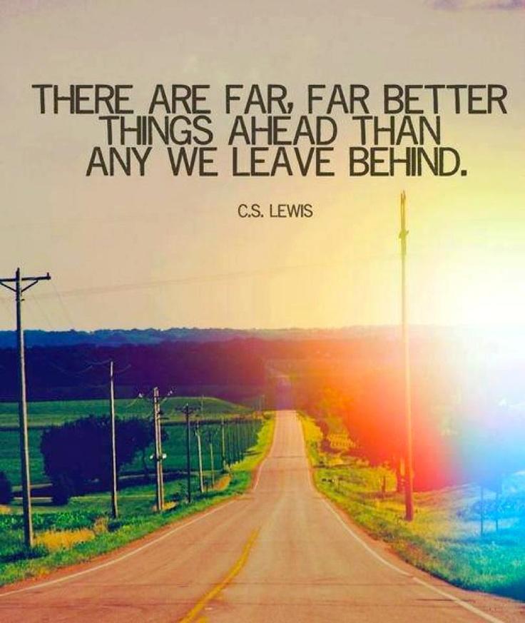 Far greater things ahead