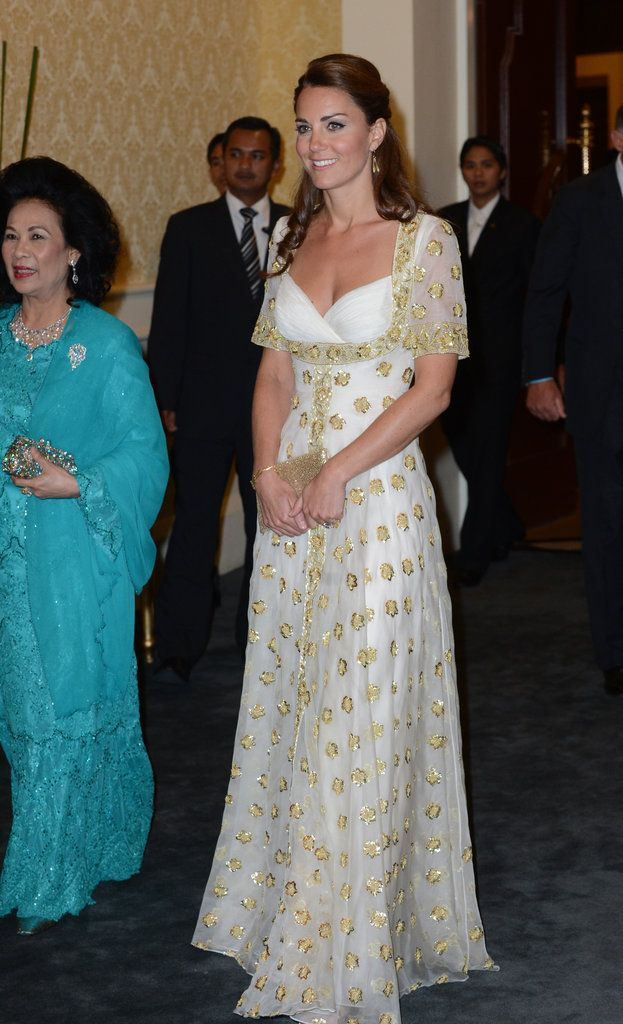 Kate Middleton in a Gown at Malaysian Reception...LOVE!