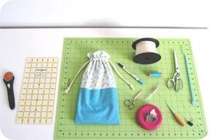 como costurar um saco de tecido