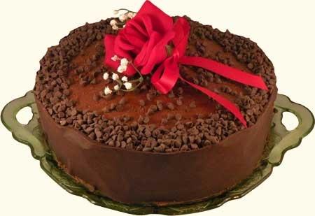 Irish Cream Chocolate Mousse Cake | Irish Food | Pinterest