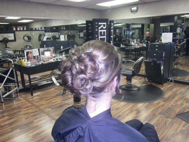 wedding hair by taylor gallagher