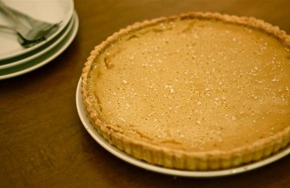 maple buttermilk tart | food | Pinterest