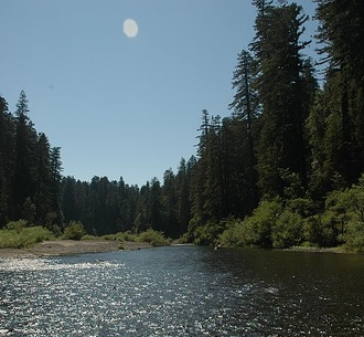 ... rivers in the country - Eel River, Humboldt County #JetsetterCurator