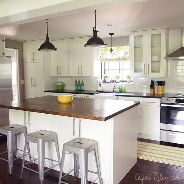 1950 ranch kitchen makeover new house ideas pinterest for Ranch home kitchen ideas