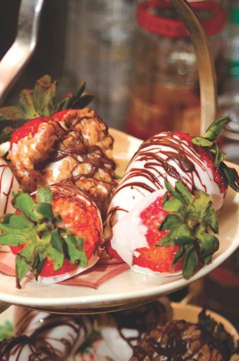 Bourbon-Infused Strawberries | my old Kentucky home. | Pinterest
