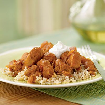 Spicy Peanut Chicken Over Rice | Eat, Drink, and Be Merry | Pinterest