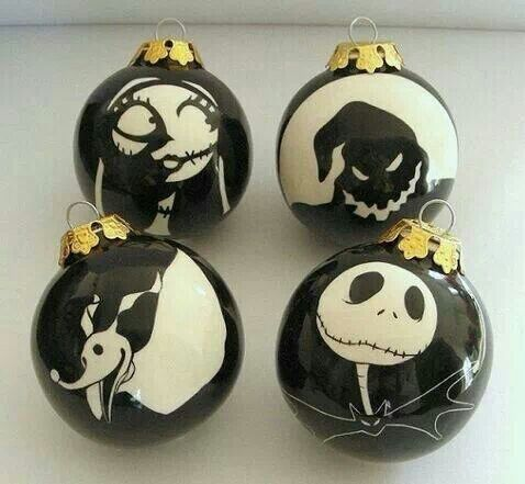 Jack skellington christmas ornaments things i need for - Jack skellington christmas decorations ...