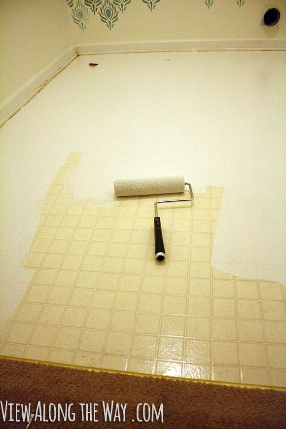 How to get tile floors to shine