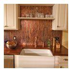 color copper backsplash sheets kitchen backsplash ideas