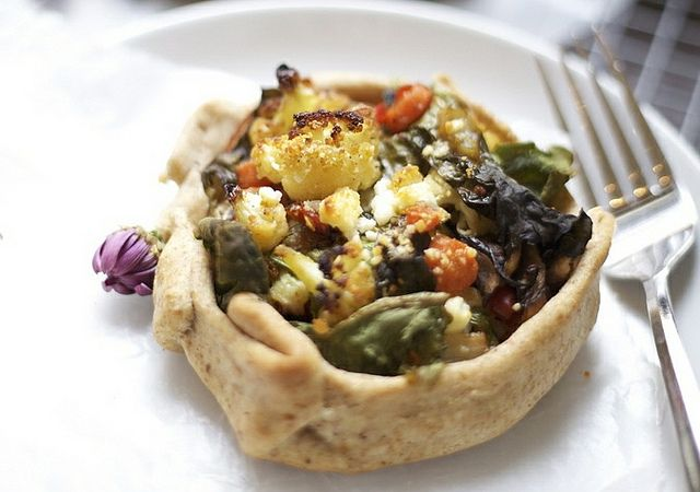 Roasted Vegetable Tart | It's chock-full of vibrant roasted vegetables ...