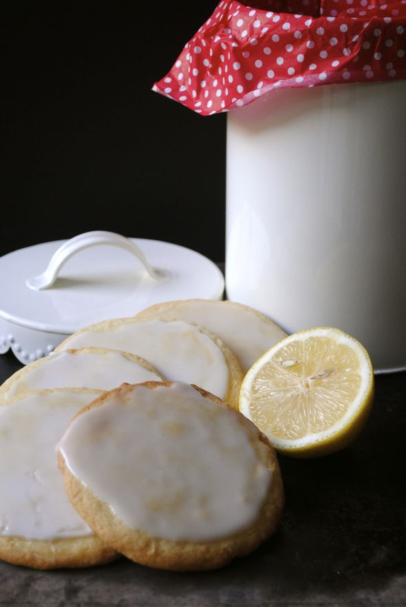 Glazed Lemon Cookies | cookies | Pinterest