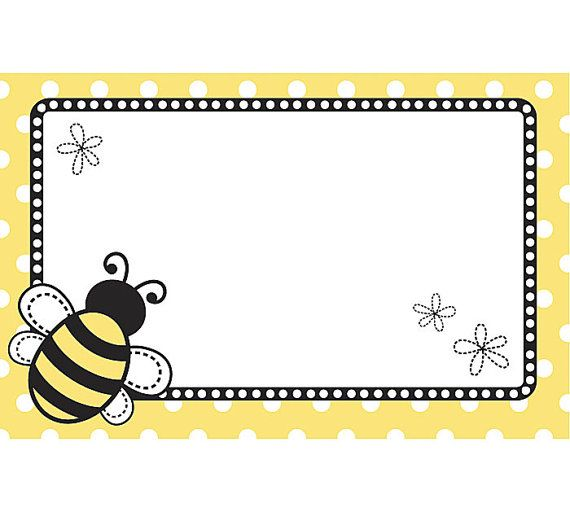 50 Bumble Bee Polka Dots Floral Print Florist Blank