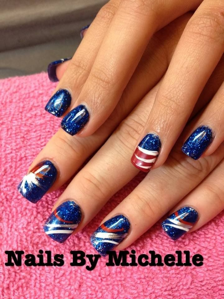 memorial day nails pinterest