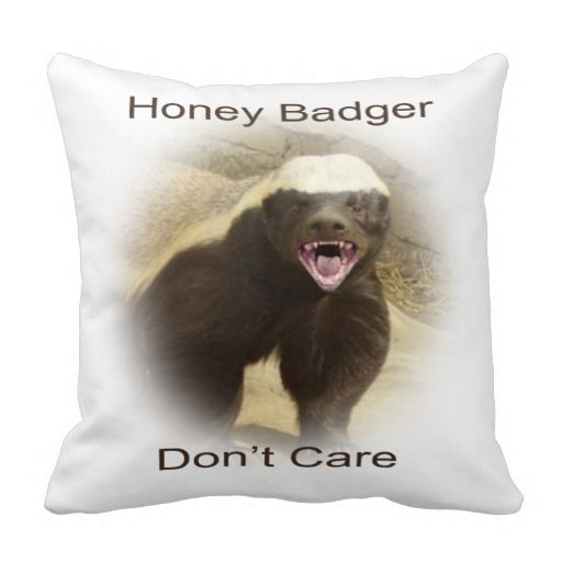 Honey badger does care