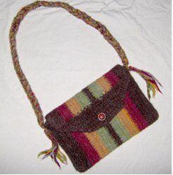 Felted Crochet Bag : Crochet Felted Purse crochet purses Pinterest