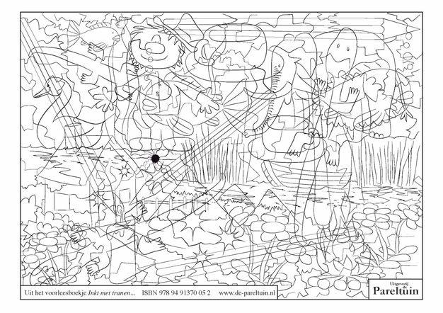 ... uit boekje Inkt met tranen  Ideeën voor kunst-opdrachten  Pinterest