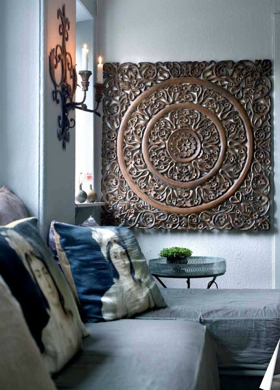 Mandala Wall wall art Pinterest