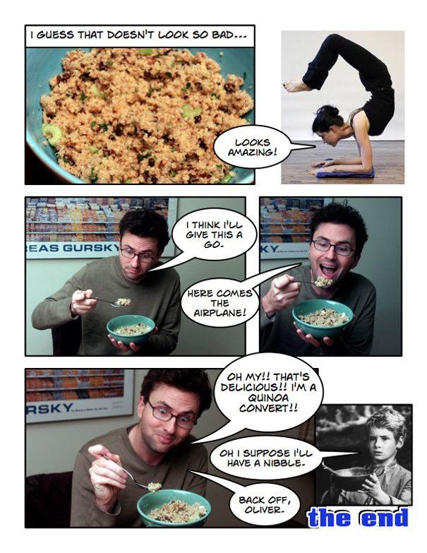 Recipe: The Quinoa Converter Summary: A recipe to turn a quinoa ...