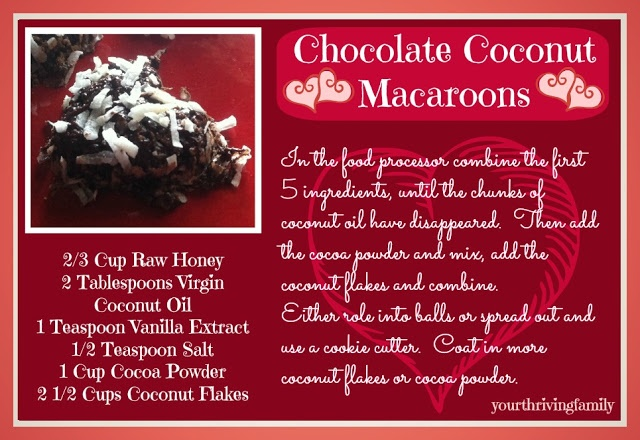 Chocolate Coconut Macaroons | breads, sides, and other various food s ...
