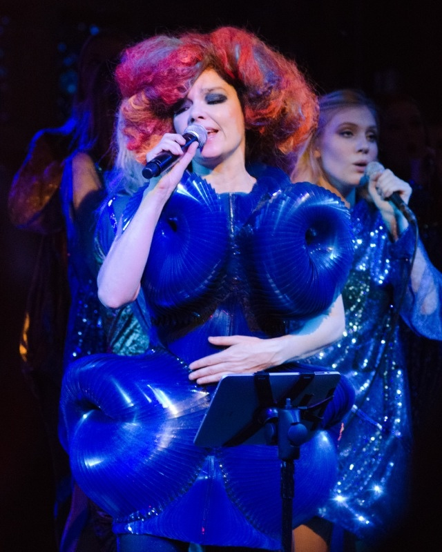 Bjork at the New York Hall of Science