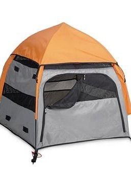 Comfortably and safely take your dog anywhere with the Umbrapet Portable Pop-up Dog Tent; an easy-to-assemble tent that gives your best friend a place of their own no matter where you are.