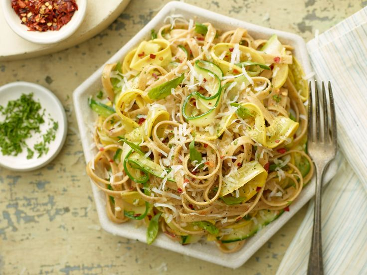 Zucchini Ribbon Pasta Recipe : Ellie Krieger : Food Network ...