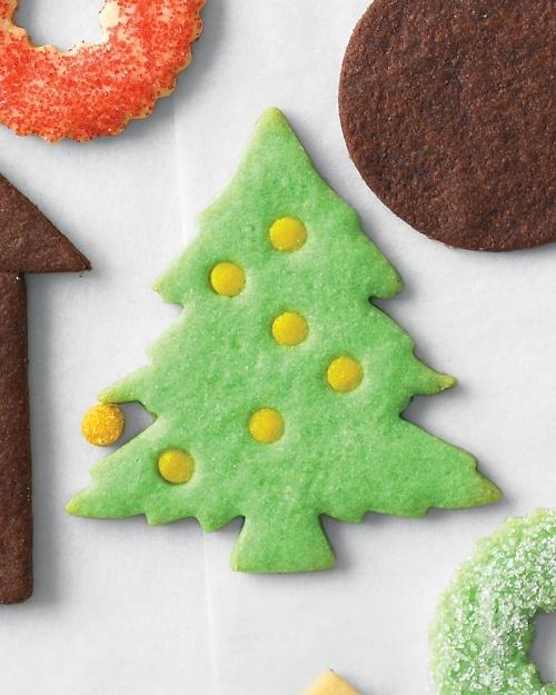 Christmas Tree Cookies - Martha Stewart Recipes
