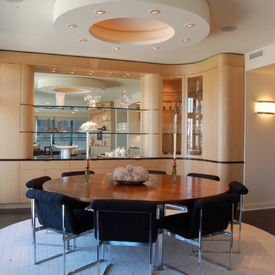 Expandable Round Dining Room Table For The Home Pinterest