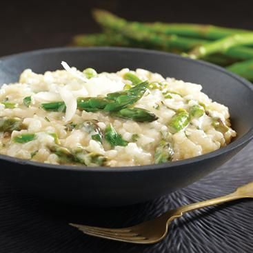Lemon Asparagus Risotto | Heavenly Cravings