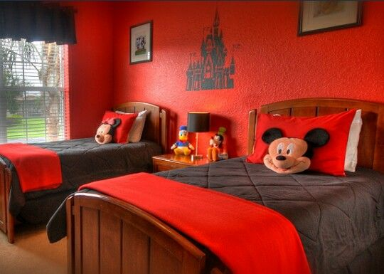 mickey mouse bedroom theme kid caves pinterest