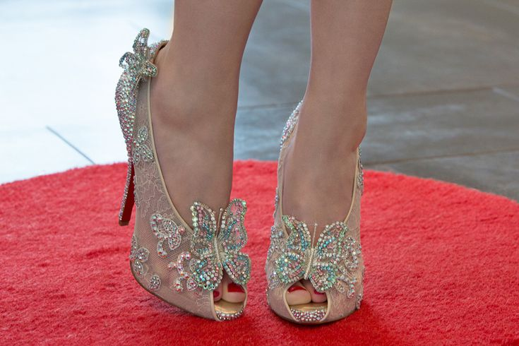 christian louboutin cinderella shoes price