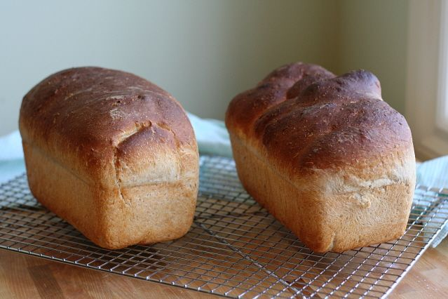 Oatmeal Buttermilk Bread Slightly adapted from Breadbasketcase. The ...