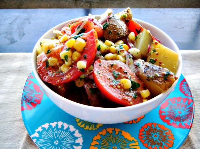 Cherry on My Sundae: Farmer's market potato salad..... my mouth is ...