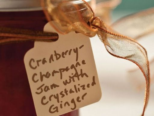 Cranberry-Champagne Jam with Ginger Recipe on Yummly