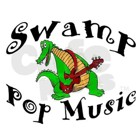 Swamp Pop Music Decal on CafePress.com