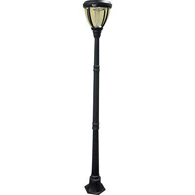 solar lamp post with motion sensor outdoors pinterest. Black Bedroom Furniture Sets. Home Design Ideas