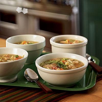 Turkey leftovers: Turkey-Pasta Soup | Healthy Food Ideas | Pinterest