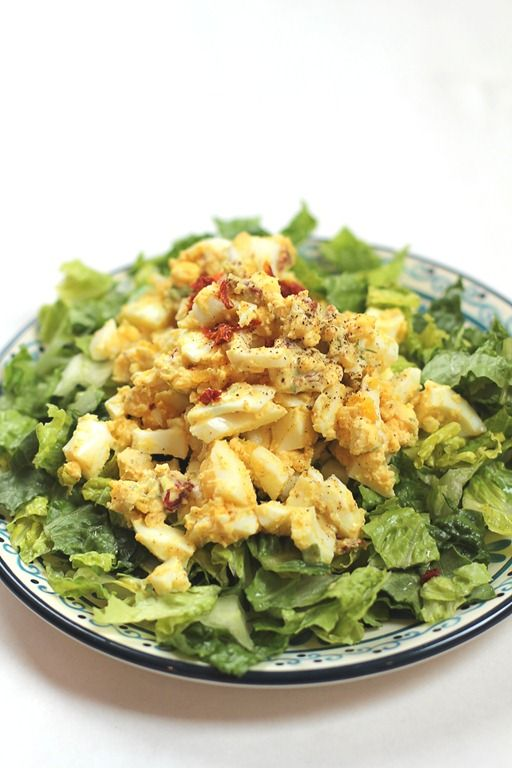 Curry Egg Salad [Yes, I want cake] | I LOVE. Eating Healthy | Pintere ...