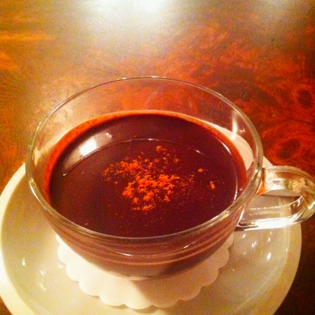 Chili hot chocolate by Choco Cafe | Num Nums... | Pinterest