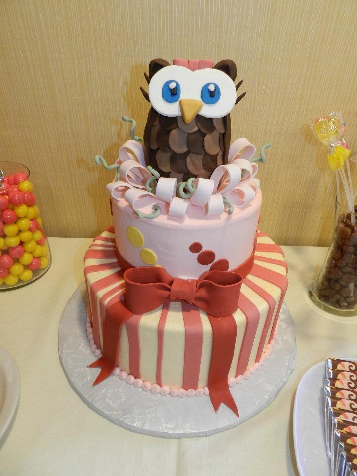 owl themed baby shower i love owls cakes pinterest