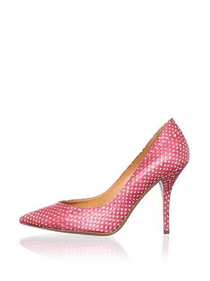 I wish these came in purple! Edmundo Castillo Women's Wow Pump, Scarlet at MYHABIT
