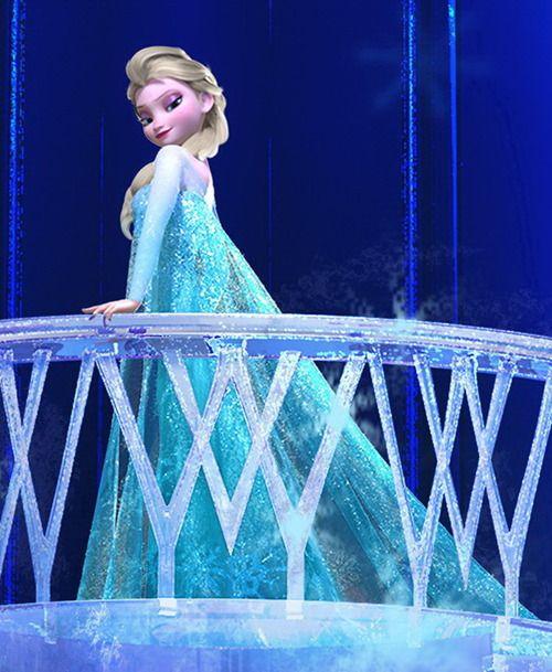 The Snow Queen from Disney's Frozen