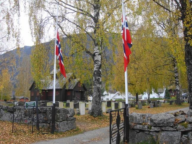 Nes church, Nesbyen in Buskerud, Norway
