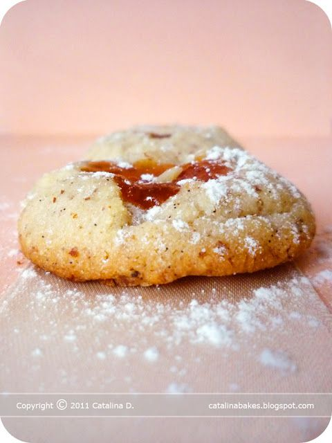 Apricot Thumbprints Recipe — Dishmaps