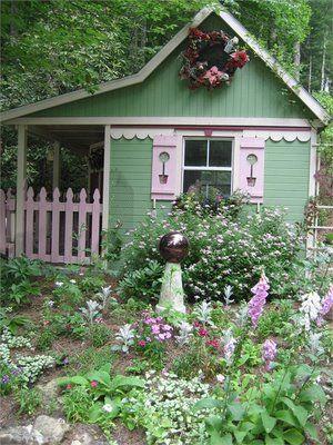 Lovely little garden cottage