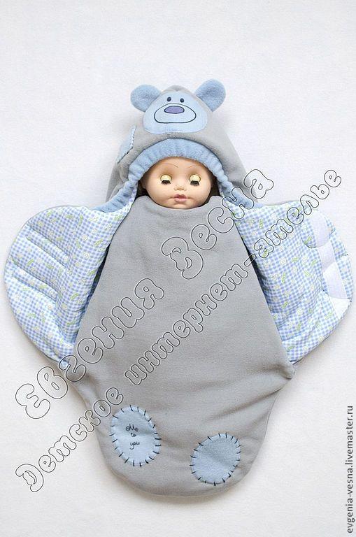 Кокон для новорожденного мастер класс
